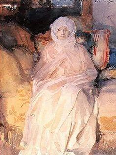 Sargent, Mrs Gardner in White 1920