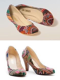 Shoes by Love is Mighty (via @Andrea Pippins)