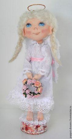 Коллекционные куклы ручной работы. Ярмарка Мастеров - ручная работа Босоногий ангел. Handmade.
