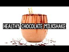 Healthy Chocolate Milkshake {Recipe Video!} | Amy's Healthy Baking