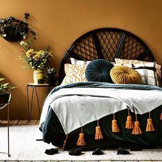Hot trend: Amy's top 10 rattan homewares & furniture picks - The Interiors Addict Deco Ethnic Chic, Home Bedroom, Bedroom Decor, Bedrooms, New Room, House Design, Interior Design, House Styles, Furniture