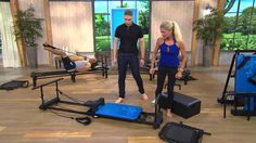 Reformer Plus 4 Cord w/DVDs Pull Up Bar and Rebounder with A.AeroPilates Reformer Plus 4 Cord w/DVDs Pull Up Bar and Rebounder with A. Pilates Workout Videos, Pilates Reformer Exercises, Workouts, Aeropilates Reformer, Pilates Machine, Total Gym, Pull Up Bar, Self Massage, Pilates Studio