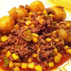 Colourful mincemeat pan | FoodPrincess