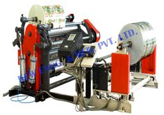 #Slitter #Rewinder #Machine is a Cantilever Type which incorporates a range of superior design feature that ensure the highest possible quality for the final split roll independent rewind tension control through non-contact ultra-sonic techniques for diameter measurement and unique core lock for differential slip at running speed.