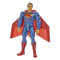 Inspired by the Batman v Superman: Dawn of Justice movie, this 12-inch, talking Superman figure features lights and sounds. - See more at ttpm.com