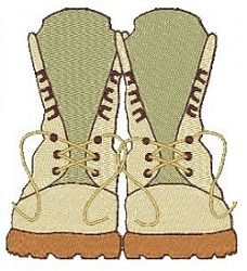Boots n All - 4x4 | Military Embroidery Downloads | Machine Embroidery Designs | SWAKembroidery.com Stitch-Ville