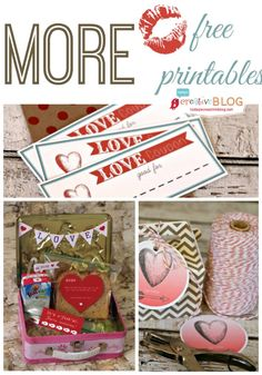 Valentine Printables | TodaysCreativeBlog.net