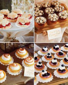 ¡Famosos al altar! Inspírate en el wedding style de las celebridades Detalle de la comida en la boda de Ryan Reynolds y Blake Lively