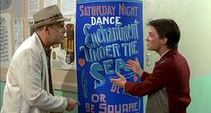 "Back to the Future - Enchantment Under the Sea Dance ""They're supposed to go to this!"""