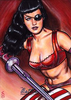 AP Bettie Page Pirate - 02