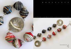 Fall / Winter 2011 - 2012 - Handmade paper jewelry