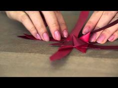 How to Make a Danish Holiday Star - YouTube