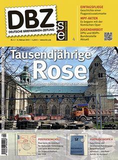 Titelbild der Deutschen Briefmarken-Zeitung DBZ 4/2015