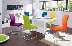 Esszimmerstühle bunt  Stühle Milano | Mit diesen Stühlen bringst du Farbe in dein ...