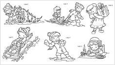 IMPRONTE D'AUTORE - STAMPING - PRODOTTI - Set timbri in legno Rivenditori - CHRISTMAS 18 - 6 disegni, 3 pezzi ognuno