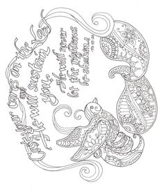 A Coloring Page I Made