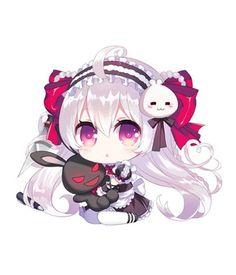 Gothic (xpost r/awwnime) : Chibi