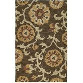 Found it at Wayfair - Carriage Cornish Brown Rug
