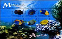British Indian Ocean Territory Marine Life Stamps