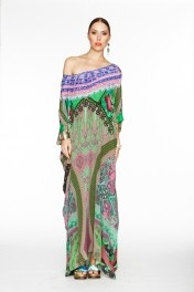 Trinket round neck caftan from Camilla