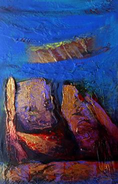Fragmentos postcolombinos 29 x 19 cm Acrilico 2015