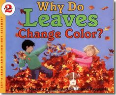 Why Do Leaves Change Color? by Betsy Maestro, Loretta Krupinski (Illustrator). Fall books for children.
