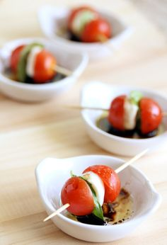 Such a perfect summer treat. I cannot wait for my tomatoes to finally ripen.