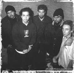 Deftones in VK Club, Brussels, Belgium. January 22nd 1998 /by Tom van Ghent.