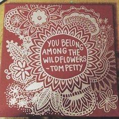 You belong among the #wildflowers #pretty #beautiful #tompetty #casualfashion#instafashion #womensfashion #effyourbeautystandards #behappy #avagrace #avagracefashions #shopeville #instabossclub #instabossmob
