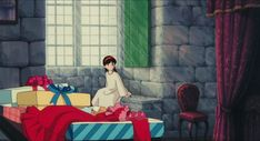 Screencap Gallery for Castle in the Sky Bluray, Studio Ghibli). A young boy stumbles into a mysterious girl who floats down from the sky. Mysterious Girl, Castle In The Sky, Film Studio, Hayao Miyazaki, Ciel, Concept Art, Animation, Disney Characters, Anime