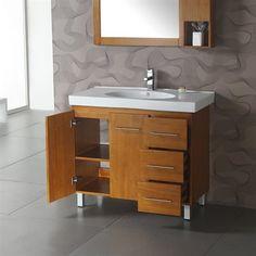 Legion Furniture WA3129 39.5-in Single Sink Chest Bathroom Vanity