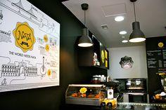 NATA Lisboa | Stadtbekannt Wien | Das Wiener Online Magazin Online Magazine, Drink Coffee, Restaurant Bar, Vienna, Beer, Sour Cream, Pudding Pies, Lisbon, City