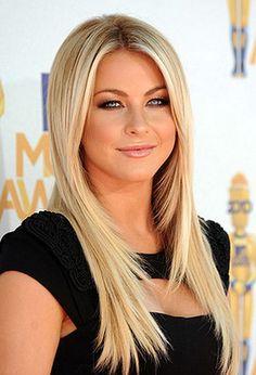 Coupe de cheveux long blond