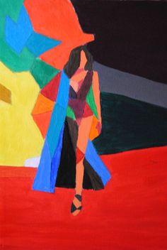 Pintura Acrílico: En busca de la abstracción.