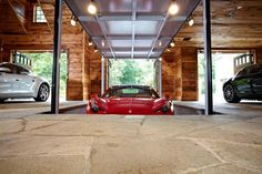 Car storage in the floor would be awesome!