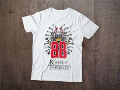 Kane Of Thrones tees available now at www.NorthLegends.ca