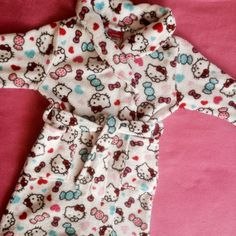 Check this item I am selling on Totspot, the resale shopping app for kids' clothes.    Hello Kitty bath robe  Hello Kitty  Love this! #kidsfashion