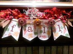 Fall Banneri-Stampin' Up!