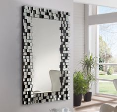 Espejos Decorativos 8 Wall Mirrorsmirror Mirrorbathroomslarge Mirrorsmirrordecorated Mirrorscraftsdecorative Craftstickets