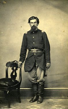 Thomas Hatfield enlisted as a corporal in Company B, 18th Missouri Infantry, on June 17, 1861, at Laclede, Missouri. He was promoted to second sergeant on August 31, 1861, to first sergeant on May 1, 1862, second lieutenant on July 29, 1864, first lieutenant on April 30, 1865, and to captain on June 16, 1865.