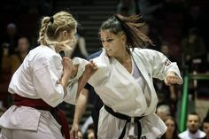 KARATE DAVID: La donostiarra Diana Cantero, campeona de Europa de karate