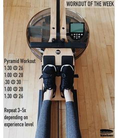 Don't leave your Thanksgiving workouts for the last minute - start now with our Pyramid workout of the week.   Questions? Email: Info@waterrower.com