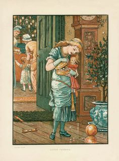 Photographic Print Little PAndora Christmas Walter by maclancy