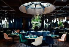 Le Roch Hotel & Spa, Paris Picture: Le Roch Restaurant - Check out Tripadvisor members' 318 candid photos and videos. Deco Restaurant, Luxury Restaurant, Restaurant Interior Design, Design Hotel, Commercial Design, Commercial Interiors, Le Roch Hotel, Spa Paris, Resorts