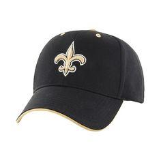NFL Twins Enterprise Men's Official Replica Adjustable Baseball Hat - New Orleans Saints