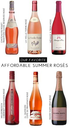 At the end of a long summer day, we'realwaysreaching forrosé. This refreshing wine goes with everything, from a cheese plate to seafood to roasted vegetables. While we certainly enjoy splurging now and then, we love to…
