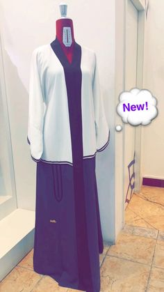 An from emperess collection by Insta Arab Swag, Abayas, Dubai Uae, App, Blazer, Boutique, Jackets, Collection, Women