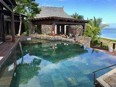Mauritius, St. Regis Villa Mauritius, Villa, Pools, Outdoor Decor, Home Decor, Luxury, Vacations, Swimming Pools, Interior Design