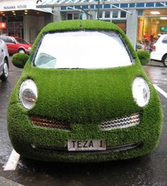 now, THAT's a green car.