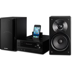Sharp XLHF202PHBK Audio Microsystem Tech Specs